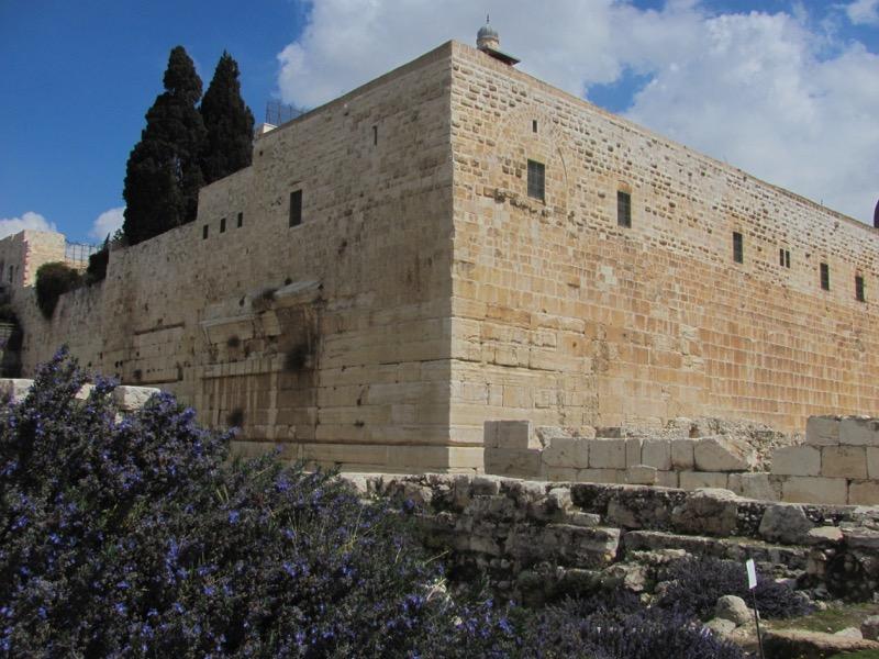Robinson's Arch Jerusalem Israel-Jordan Tour March 2017