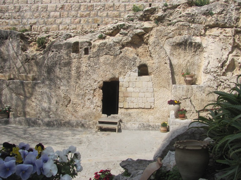 Garden Tomb Jerusalem Israel-Jordan Tour March 2017