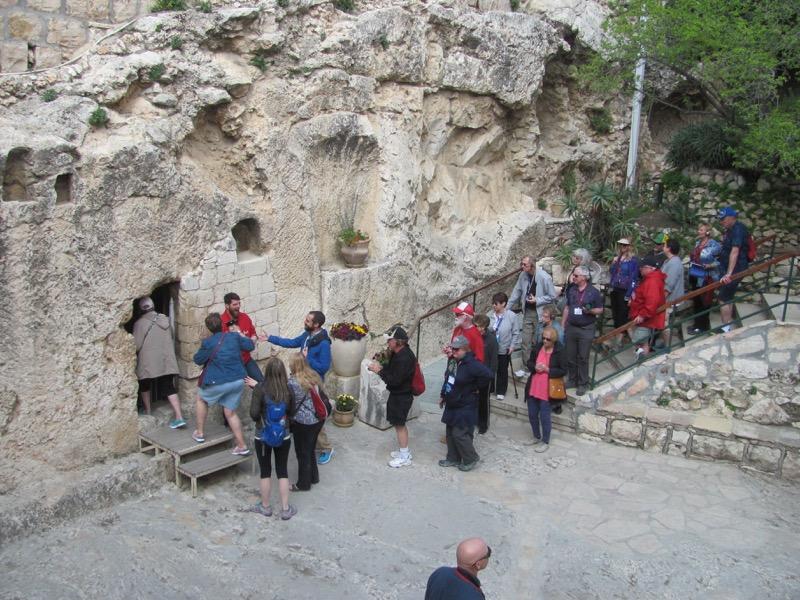 Garden Tomb Jerusalem Israel-Jordan Tour March 2017