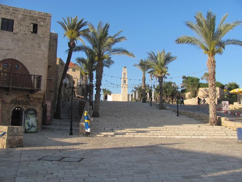 St. Peter's Church Jaffa April 2017 Israel Tour