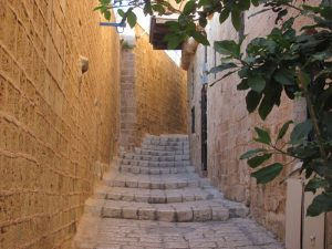 alleyways of Jaffa