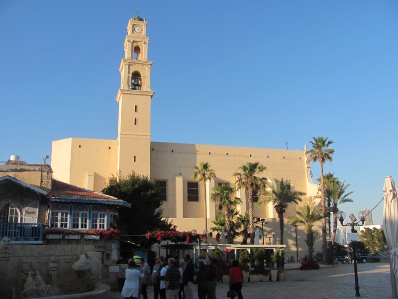 Jaffa - Joppa st. Peter's Church April 2017 Israel Tour