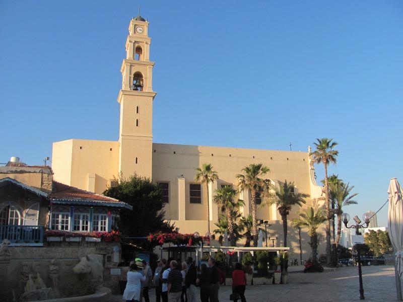 Jaffa - Joppa st. Peter's Church April 2017 Israel Tour