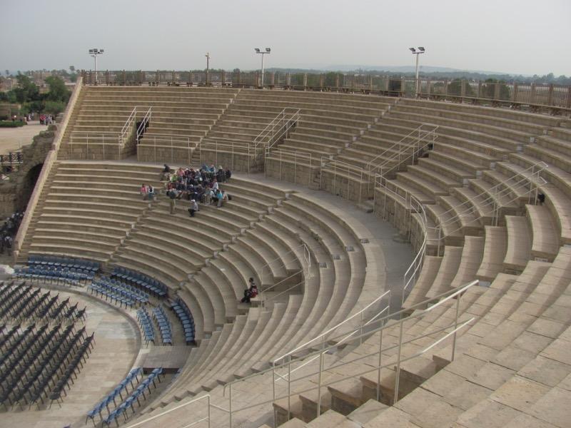 Caearea Theater April 2017 Israel Tour