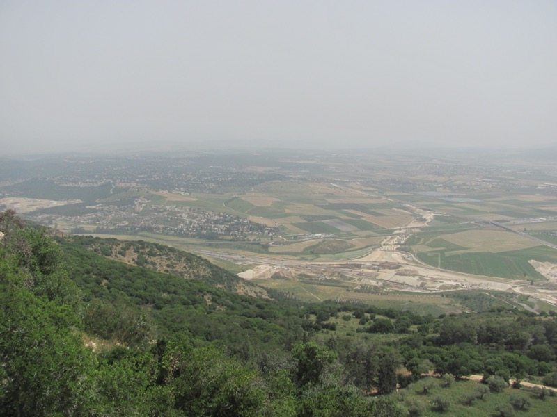 Jezreel Valley April 2017 Israel Tour