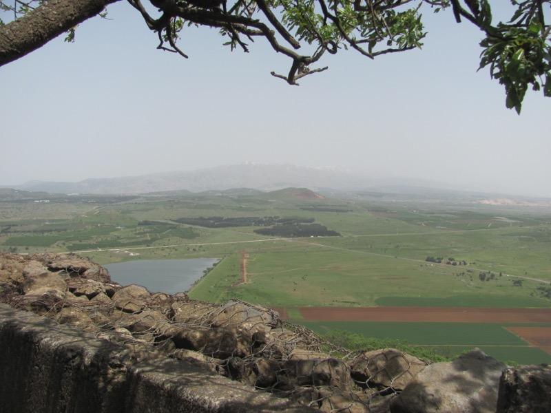 Bental Syrian border April 2017 Israel Tour