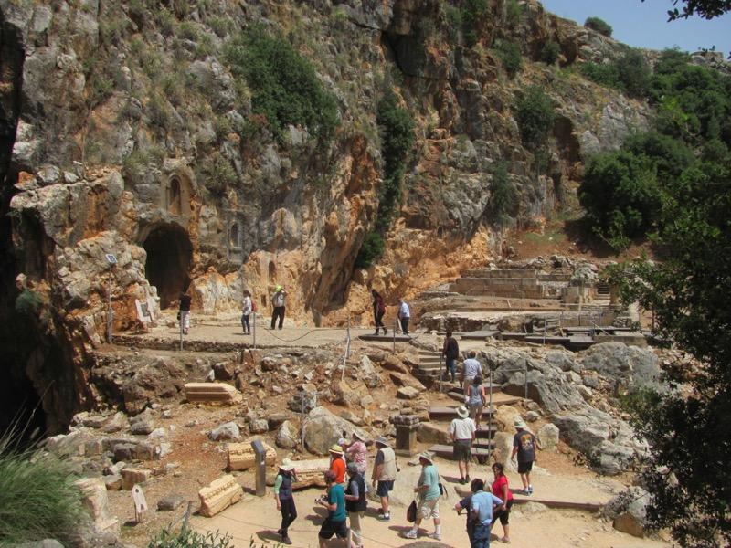 Banias Caesarea Philippi April 2017 Israel Tour