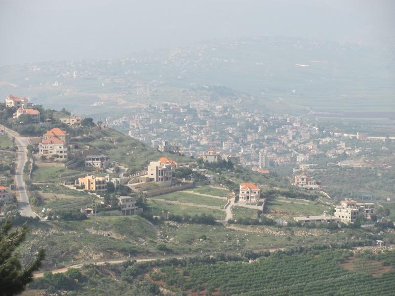 Lebanon border April 2017 Israel Tour