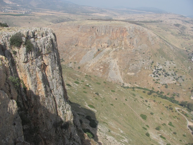Cliff of Arbel April 2017 Israel Tour
