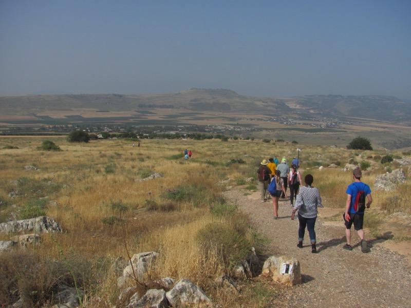 Arbel cliff trail April 2017 Israel Tour