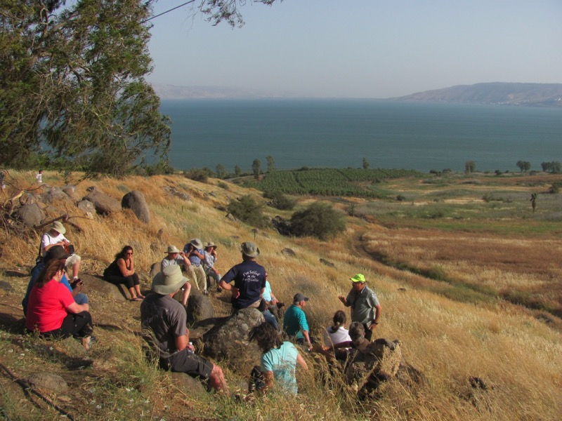 Mt. of Beatitudes April 2017 Israel Tour