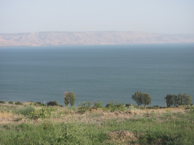 Sea of Galilee April 2017 Israel Tour