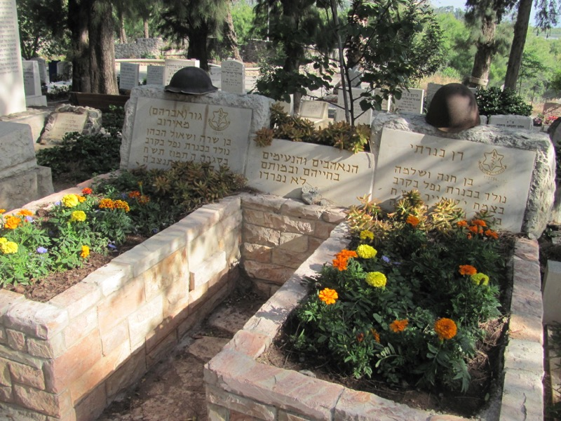 Kinneret Cemetery April 2017 Israel Tour