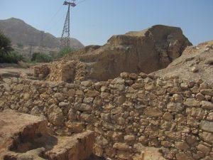 Retaining walls of Jericho