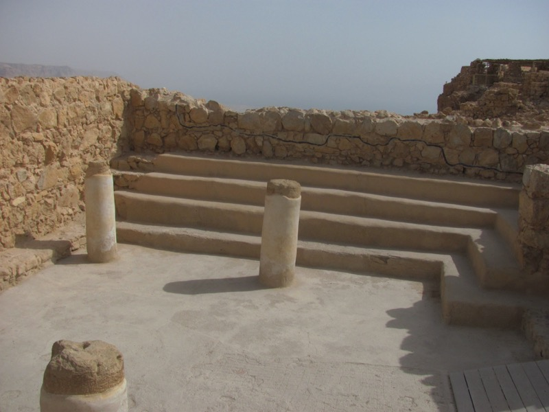 Masada synagogue April 2017 Israel Tour