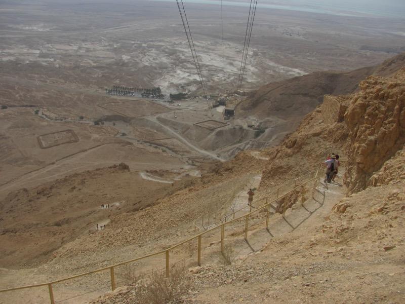 Masada Snake Path April 2017 Israel Tour