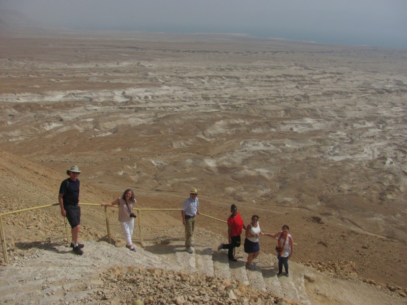 Masada Snake Path April 2017 Israel Tour