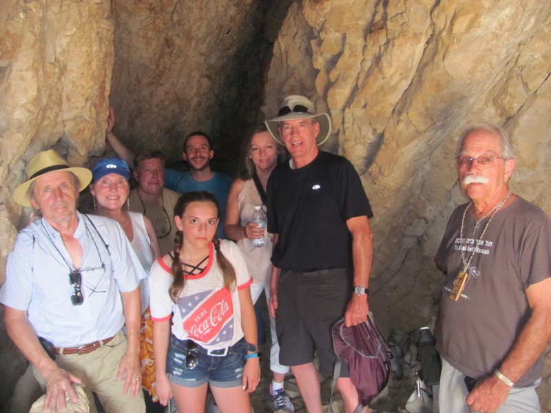 Qumran Cave 1 April 2017 Israel Tour