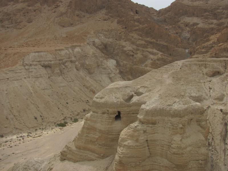 Qumran Cave 4 April 2017 Israel Tour
