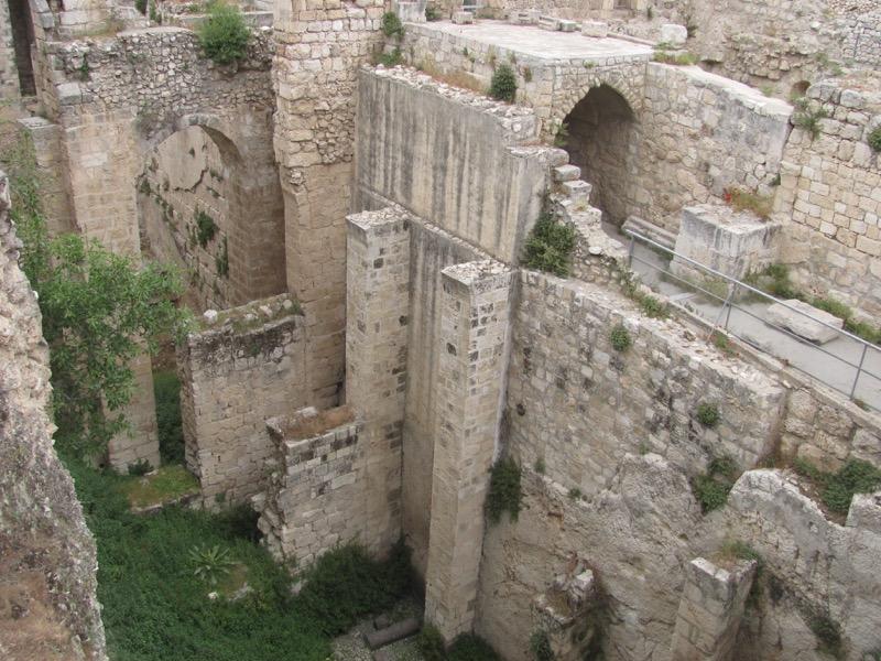 Pools of Bethesda Jerusalem April 2017 Israel Tour
