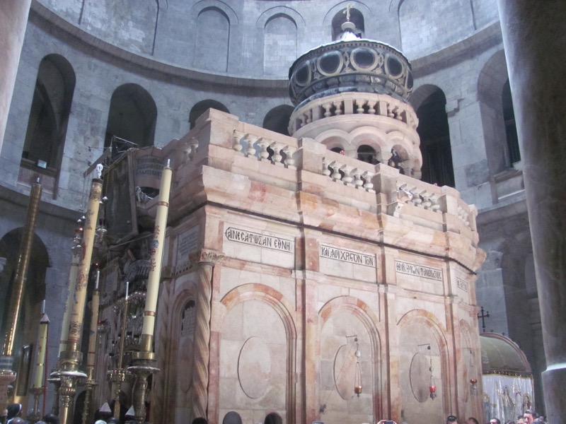 Holy Sepulcher Church Tomb of Christ Jerusalem April 2017 Israel Tour