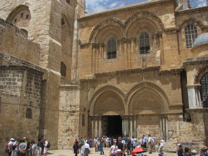 Holy Sepulcher Church Jerusalem April 2017 Israel Tour