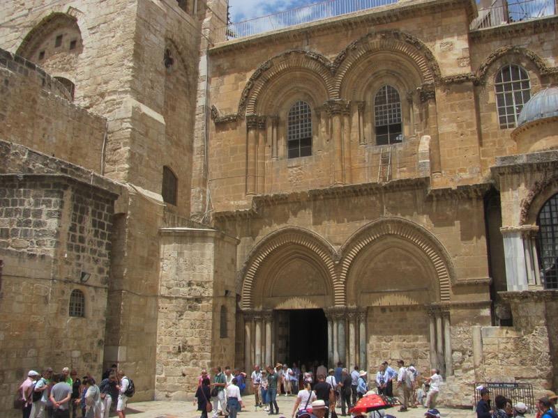 Holy Sepulcher Church Jerusalem April 2017 Israel Tour