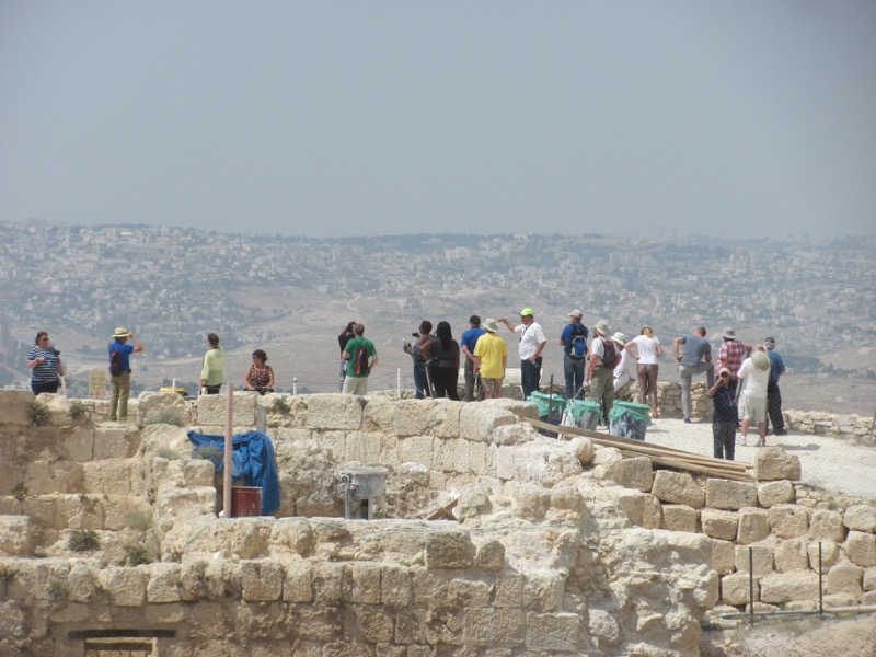 Herodium April 2017 Israel Tour