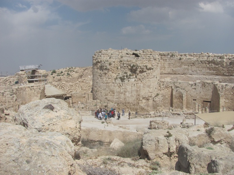 Herodium April 2017 Israel Tour