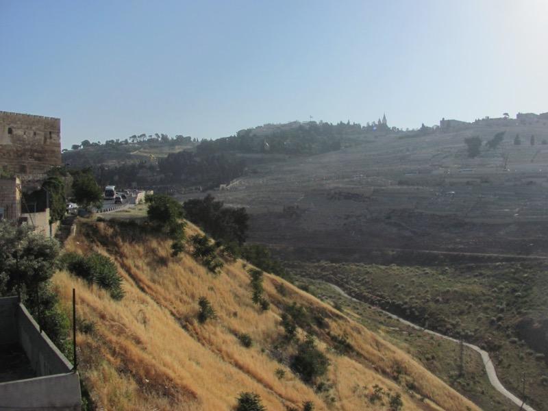 Mt. of Olives Jerusalem April 2017 Israel Tour