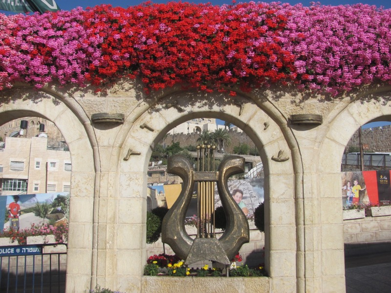 City of David Jerusalem April 2017 Israel Tour