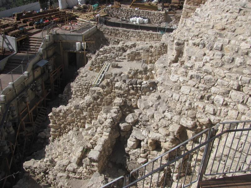 City of David Area G Jerusalem April 2017 Israel Tour