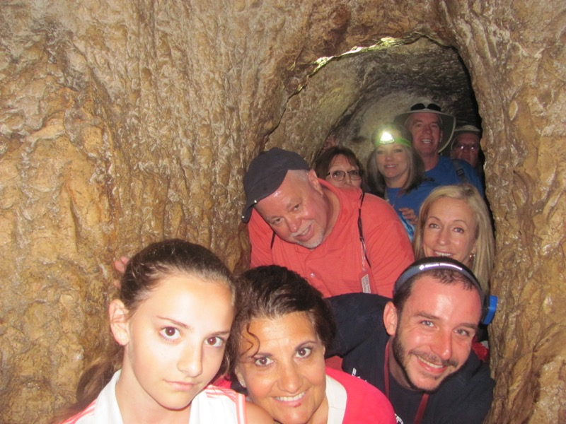 Hezekiah's Tunnel Jerusalem April 2017 Israel Tour