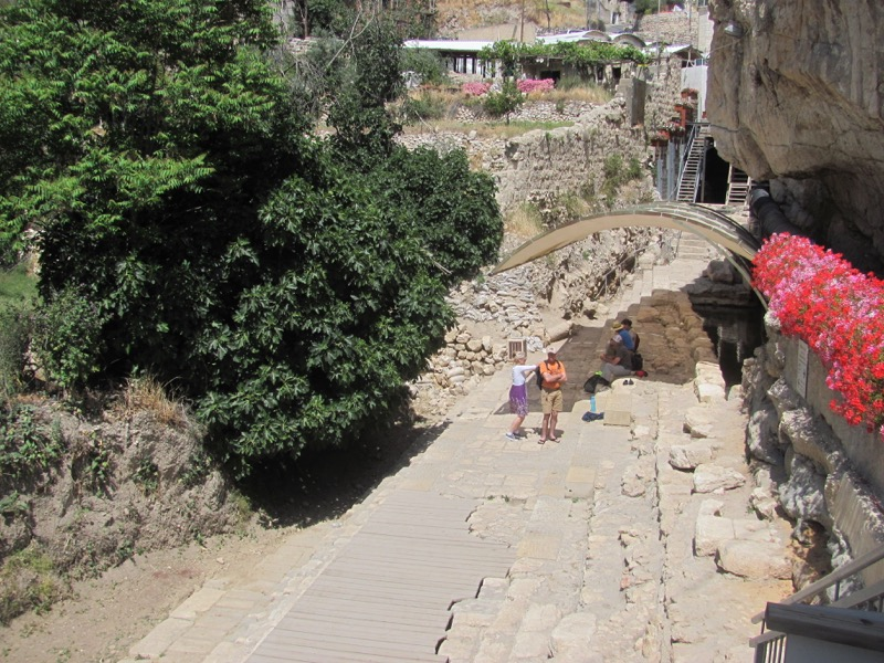 City of David Siloam Pool Jerusalem April 2017 Israel Tour