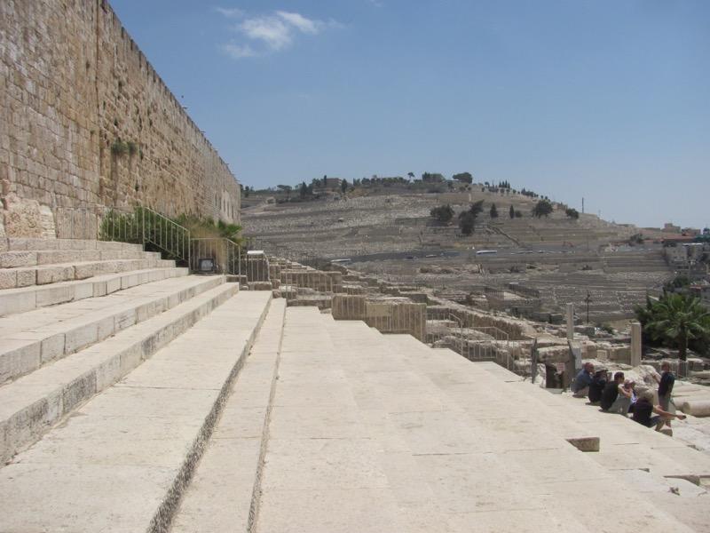 Temple Steps Jerusalem April 2017 Israel Tour