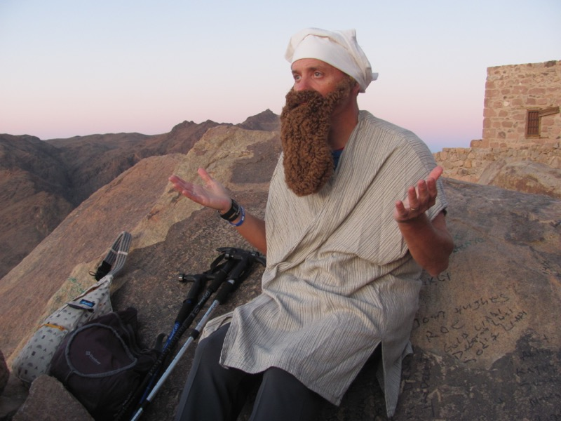 Mt. Sinai Hike May 2017 Egypt Tour