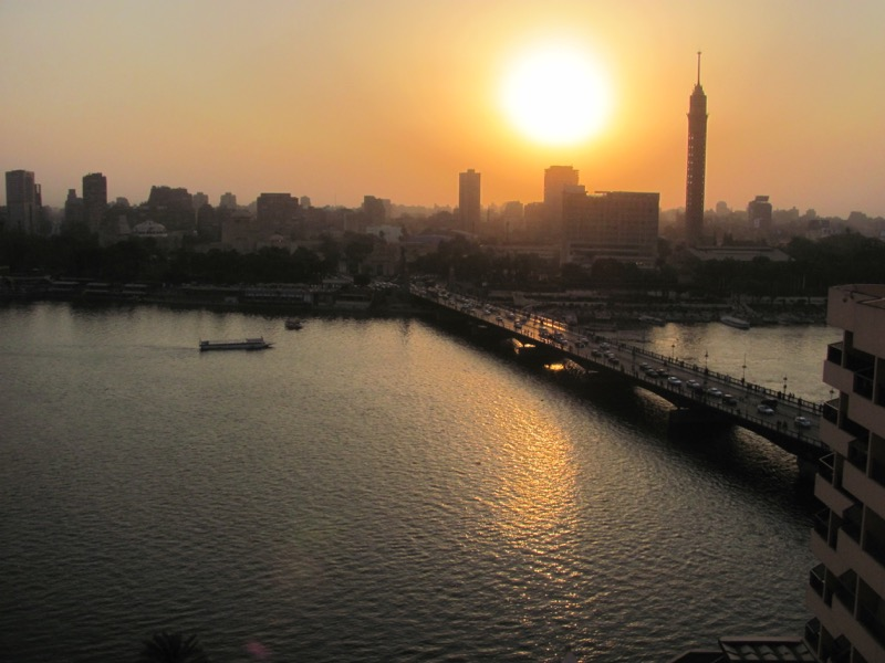 Cairo Sunset May 2017 Egypt Tour