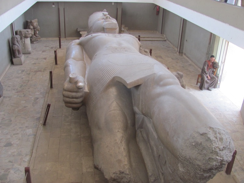 Memphis Ramses II April 2017 Egypt Tour