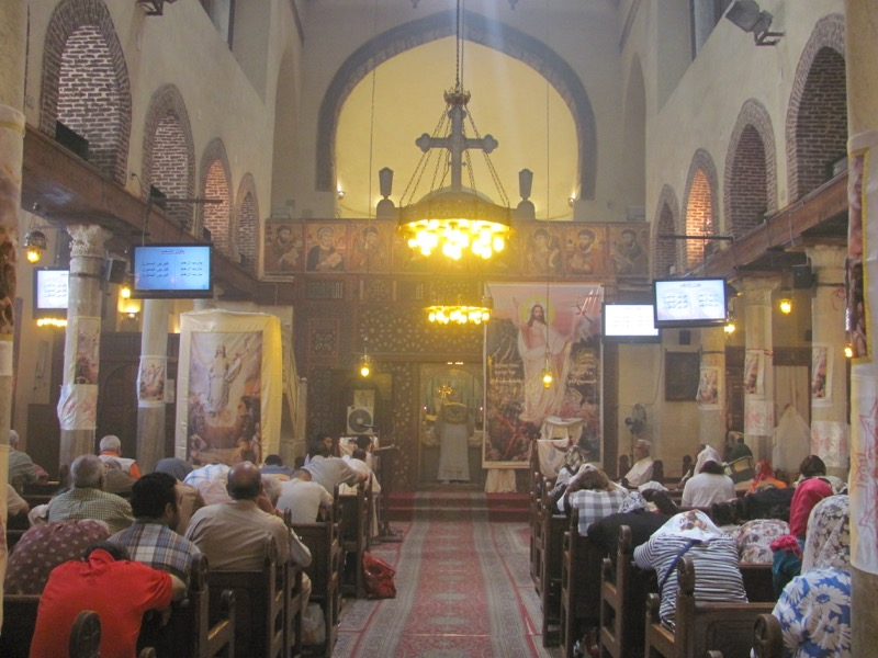 Coptic Church Cairo April 2017 Egypt Tour