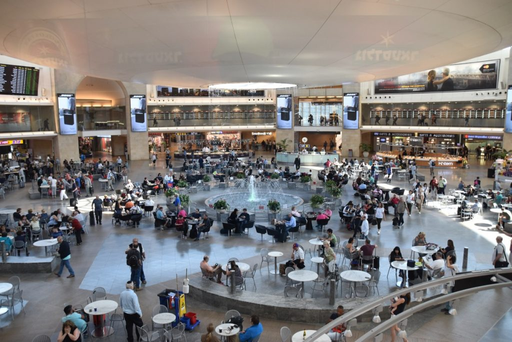 Tel Aviv airport September 2017 Israel Tour