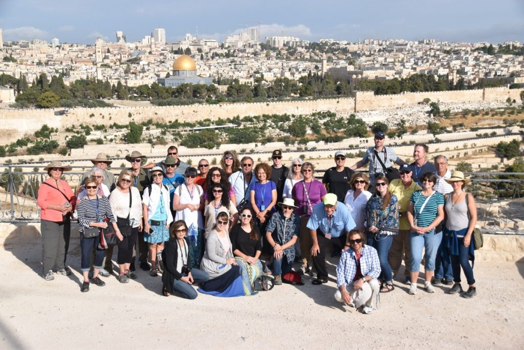Jerusalem Mt. of Olives June 2017 Israel Tour