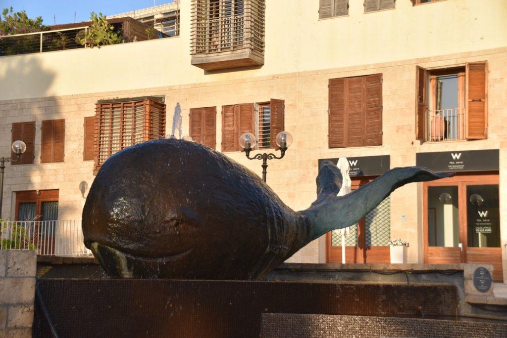 Jaffa Whale Jonah June 2017 Israel Tour