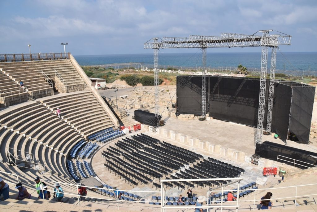 Caesarea Theater June 2017 Israel Tour