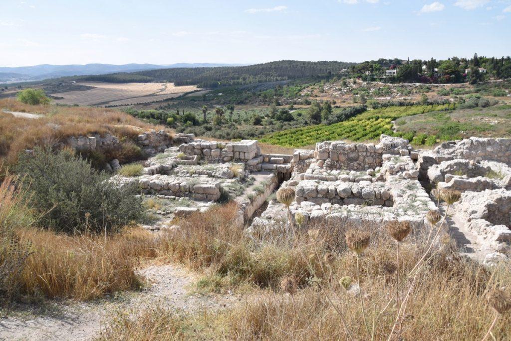 Gezer Solomonic Gate Israel June 2017 Israel Tour