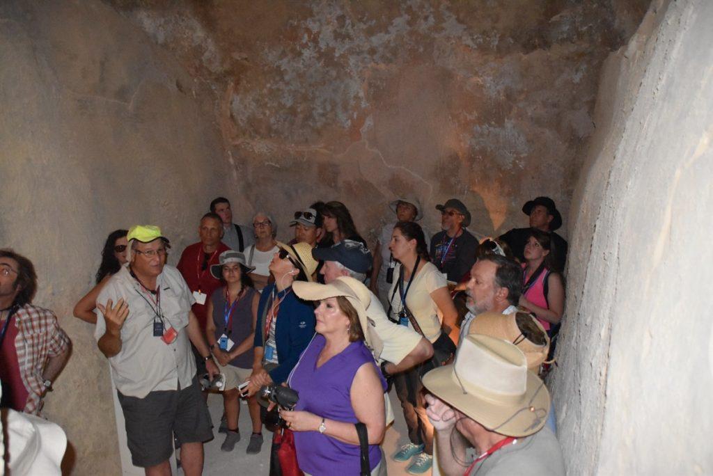 Tel Beersheba water cistern June 2017 Israel Tour