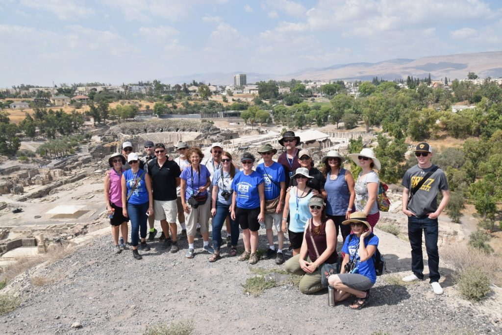 Beth Shean June 2017 Israel Tour