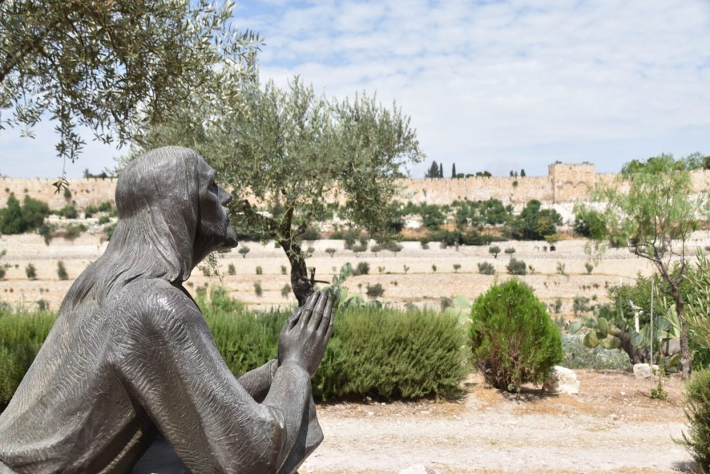 Jesus' passion Gethsemane Israel Tour June 2017