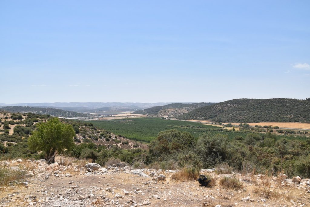 Kh. Qeiyafa Elah Valley June 2017 Israel Tour