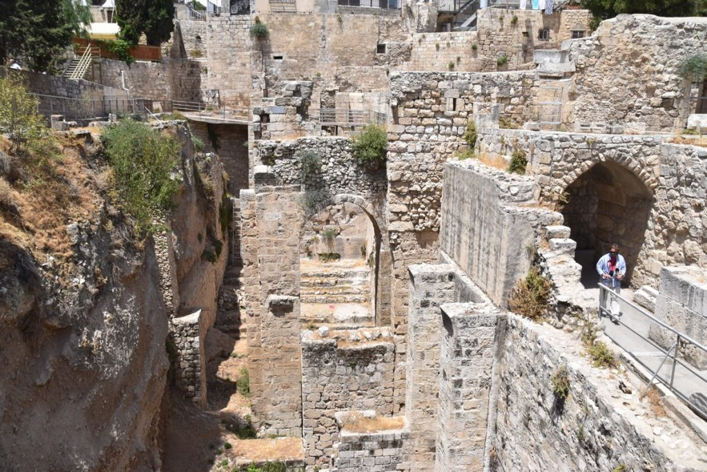 Pool of Bethesda Jerusalem June 2017 Israel Tour