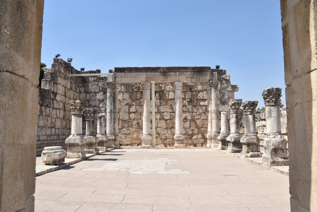 Capernaum synagogue June 2017 Israel Tour